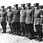 Сызрань, 1956 год. Командование училища и полка