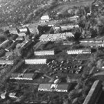 Часть территории училища, сфотографированная с вертолёта