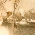 Во время службы на Камчатке