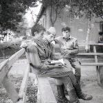 Уварово. Лето 1988 г. Украинские братья - Горбатовский, Билопольский, Чумак