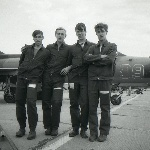 На полётах в Поворино. 1989 год
