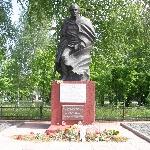Братская могила в г. Рудня Смоленской обл. Здесь лежит Тимофеев Василий Васильевич