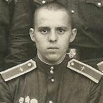 Курсант I курса Г. Лавриненко. Борисоглебск, октябрь 1951 г.