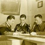Сослуживцы по 183 ИАП, 1940 год