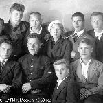 Выпускники ФЗУ ЦАГИ, г. Москва, 1938 год