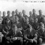 Комсостав выпуска лётчиков 1940 года