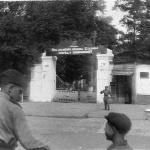 Центральное КПП Борисоглебского ВАУЛ, лето 1953 г.