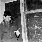 Курсант Зайцев сдаёт экзамен по физике
