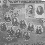 Выпуск 2-й Военной школы лётчиков ВВС РККА, город Борисоглебск, 1938 год