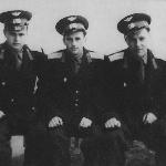 Магнитогорск, май 1958 г. Слева  направо: Сельков  Б.В., Грачев А.И., Женихов А.А., Черкасов А.
