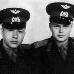 Апрель 1958 г. Выпуск.  С  Заушицыным  В.А.
