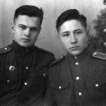 Борисоглебск, 1957 г., с Заушицыным В.А.