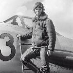 Юрий Газеев перед полётом на пилотаж