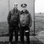 Друзья-инструкторы В.Суздальцев и В.Паболков