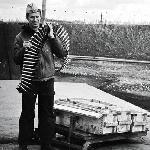 Виктор Милёхин на зарядке