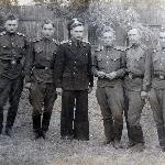 Слева направо: 1)Евдошенко, 2)Гроцкий В.И., 3)Малышев (инструктор), 4)Серяков Б., 5)Кошелев Л.Д., 6)Чаплыгин В.