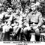 Вьюшин Г., Анисимов И., Михайлов В., Лялин С. Ряжск, 1975 год