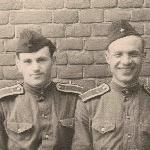 С Шабуниным, 1958 г., Бутурлиновка