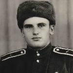 Грачев А.И., первое фото. Ноябрь 1954 г., Актюбинск