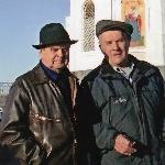 Встреча в Красноярске, октябрь 2007 года. Сельков Б.В.,  Женихов А.А.