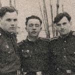 Бутурлиновка, январь 1958 года. С Кожемякиным Г. и Грачевым А.