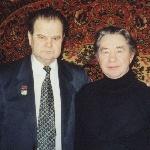 Январь 2002 г.  Встреча однокашников в Пушкино: Сельков Б.В., Заушицын В.А.