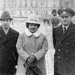 Октябрь 1978 г., встреча в Ленинграде. Слева направо: Заушицын В.А., его жена Нина, Грачев А.И.