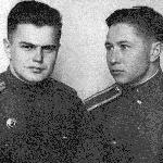1958 год., Бутурлиновка. Сельков Б., Заушицын В.