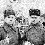 Январь 1958 г.  Тарадыменко Н.,   Сельков Б.