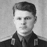 28 января 1964 г. Увеличенное фото на удостоверение капитана, высланное вдовой Виктора Лусникова