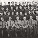 Участники первого слёта отличников боевой и политической подготовки Борисоглебского Высшего военного авиационного училища лётчиков