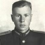 Нога В.Е. - курсант Борисоглебского военного летного училища