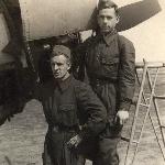 Борисоглебск, 1954 год. Пищулин, Карлов (умер)