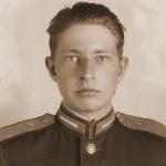 Докучаев Виктор Дмитриевич, 9 военная авиационная школа первоначального обучения лётчиков (г. Кустанай). Сфотографирован 20.05.1953