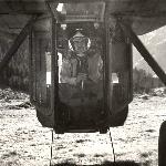 Ми-10К нижняя кабина. Лётчик пилотирует в положении задом наперёд