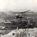 Ми-10К. Строительство ЛЭП на Кавказе