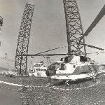 Ка-32 на плавучей буровой установке (ПБУ), 1988 год