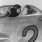 1957 г., лето. Аэродром Елань-Коленовский. Тренаж на предварительной подготовке. Курсант Гармаш Ю.М.