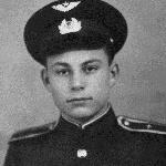 1954 г., осень. Курсант Гармаш Ю.М.