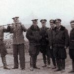 Борисоглебск, 1954 год. Плёнку смотрят Тельпов и Кадацкий