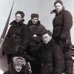 Борисоглебск, апрель, 1952 г. Подготовка мат. части к летней эксплуатации