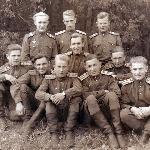 1948 год, Борисоглебск. Савельев, Голубев, Кривич, Петров, Михайлов, Сидоров, Павлов, Теплоухов