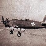 1947 год. 2АЭ. Полёт в составе пары. Ведущий лейтенант Володин, на фото ведомый курсант Кадацкий Владимир