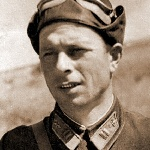Майор Рождественский Виктор Александрович, 10 августа 1942 года - незадолго до гибели в бою