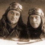 На память Прусову И.И. от боевых лётчиков