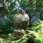 01 июля 2013 г. Мамонтовка,  встреча с выпусником училища 1958 года Заушициным В.А.