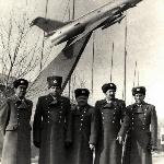 Монголия, Улан- Батор.  23 февраля  1978 г.