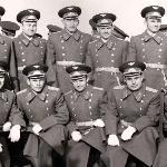Москва,  ВВА им. Гагарина.  Перед парадом на Красной Площади 9 мая 1967 г.