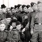 Группа  курсантов.  Бутурлиновка,  1959 г.