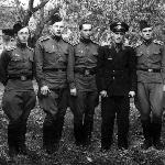 Летная группа инструктора Караваева. Борисоглебск,  1957 г.